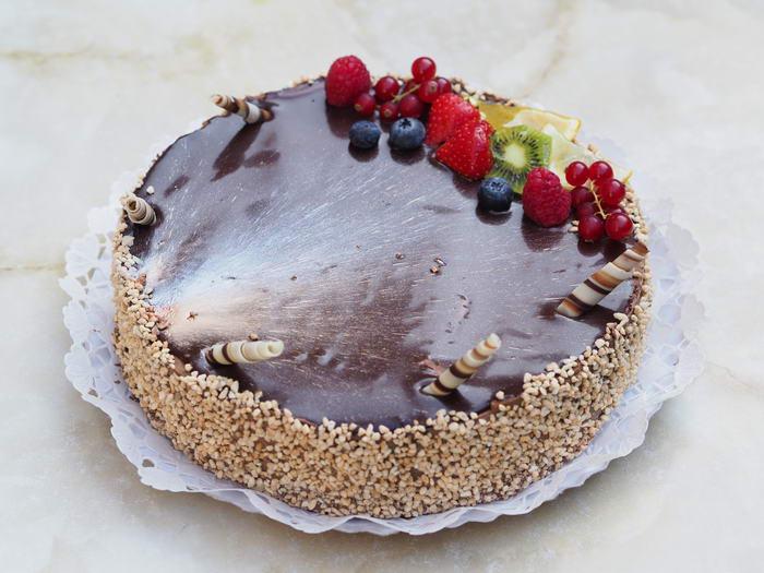 Málnás-csokis mousse